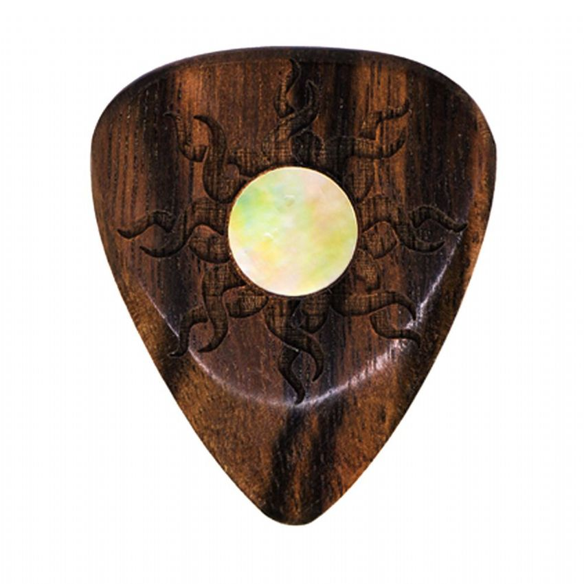 Sun Tones - Macassar - 1 Guitar Pick | Timber Tones